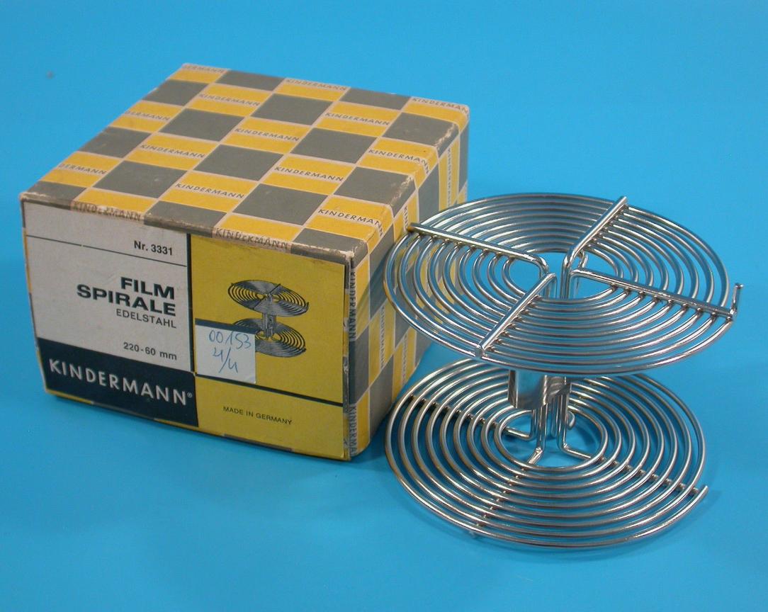 Kindermann Filmspirale 60mm Filmlängen bis zu 172cm ( Film 220 )