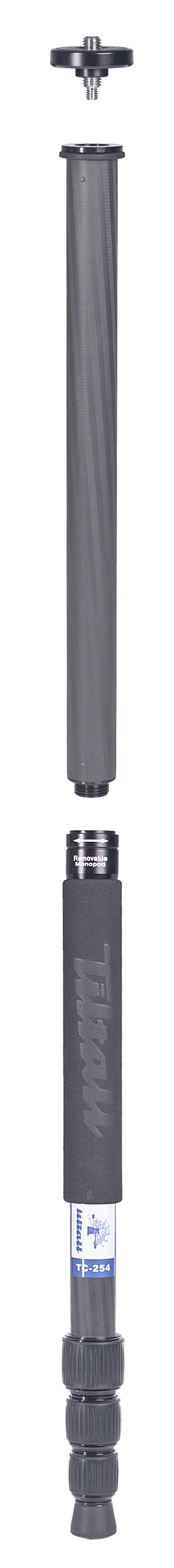 TILTALL Kamerastativ mit integriertem Einbeinstativ TE-254