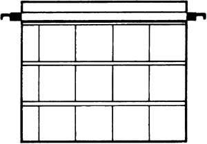 Kenro Dia-Archivhüllen für 12 ungerahmte 6x6cm Dias, ohne Schienen