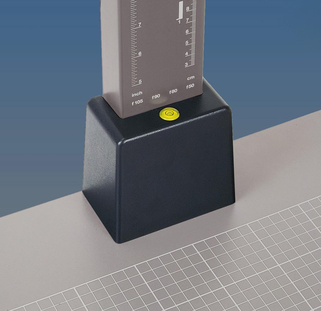 KAISER Sockel für 70mm breite Säule