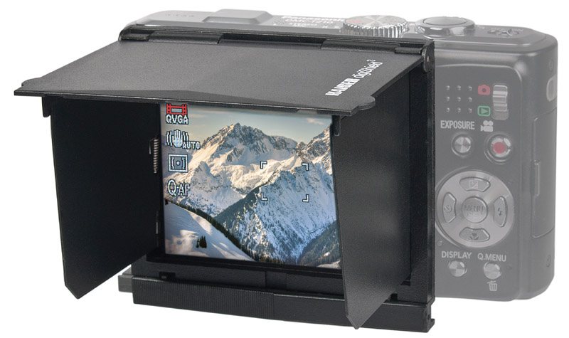 KAISER Monitor Blendschutz digiShield³ für Monitore bis 3,0 Zoll