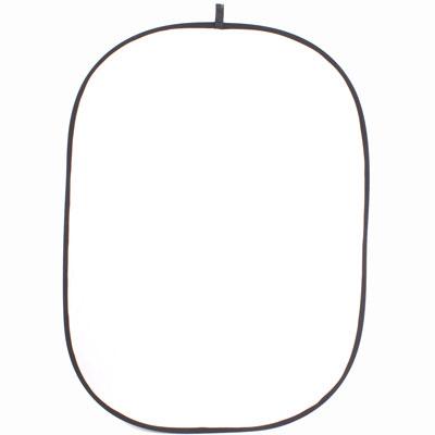 Falthintergrund weiß/schwarz 150x200cm