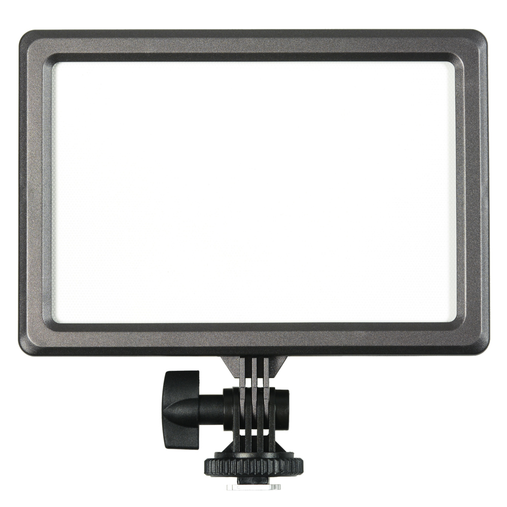 KAISER NanGuang LED-Kameraleuchte Luxpad 23, inkl. Li-Ion-Akku und Ladegerät