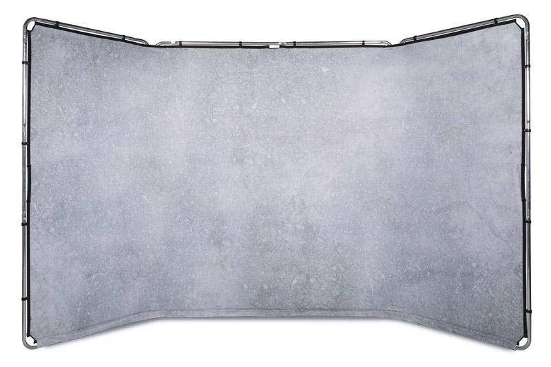 Lastolite Panorama Hintergrundsystem 4 x 2,3m, Limestone