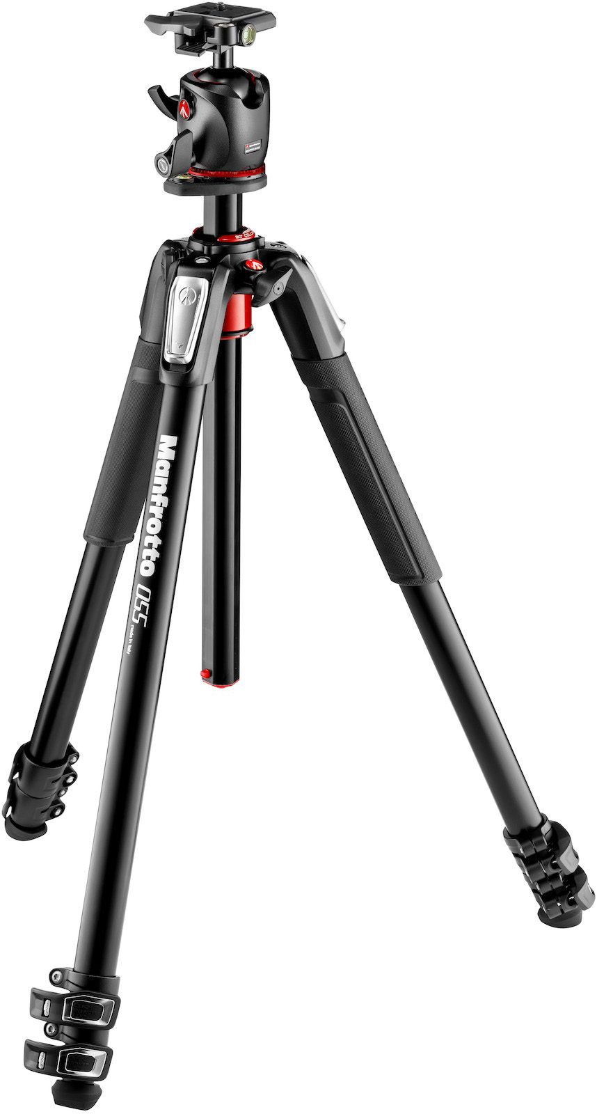 Manfrotto MT055XPRO3 Stativ (3 Segmente) + MHXPRO-BHQ2 Kugelkopf aus Magnesium