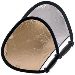 Lastolite TriGrip Faltreflektor 45cm SUNFIRE/SILBER