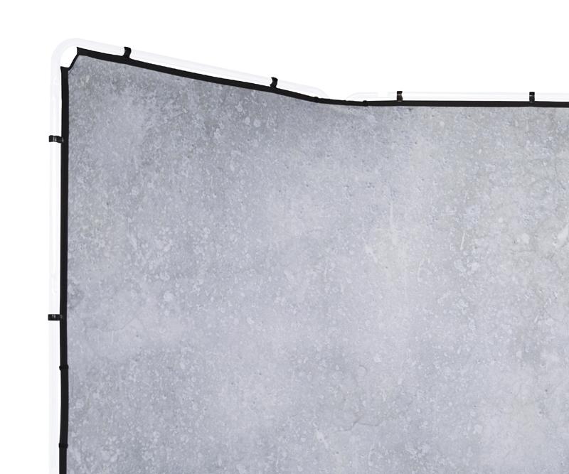 Lastolite knitterfreie Bespannung für Panorama Hintergrundsystem 4 x 2,3m, Limestone