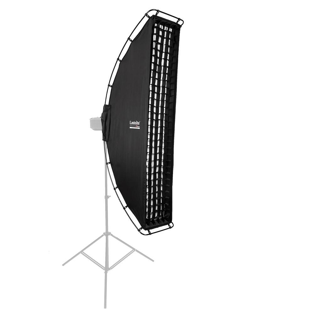 Lastolite Ezybox Pro Strip Softbox 25 x 150cm, inkl. Wabengitter (LL LS3030)
