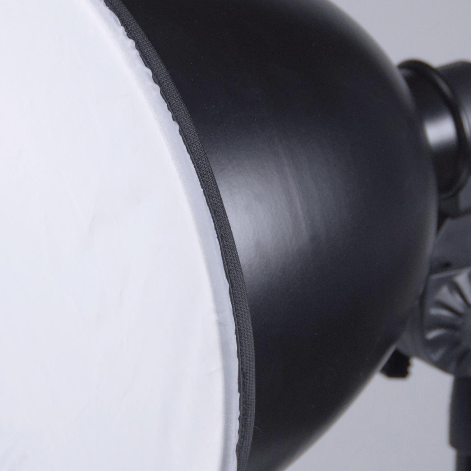 KAISER Aufnahmeset easy-fit, Aufnahmetisch mit Desktop-Beleuchtungseinrichtung