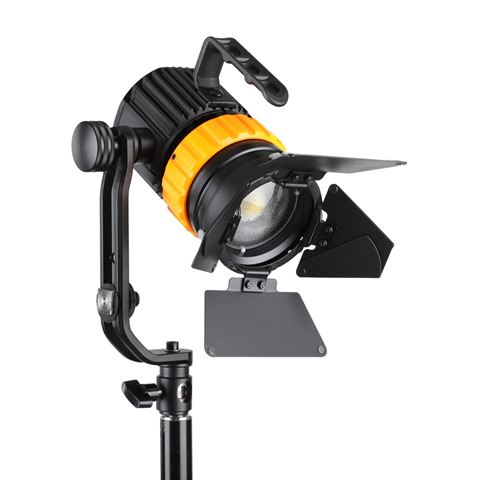 Falcon Eyes Bi-Color Mini LED Fresnel P-5AD 50W, 12-44°