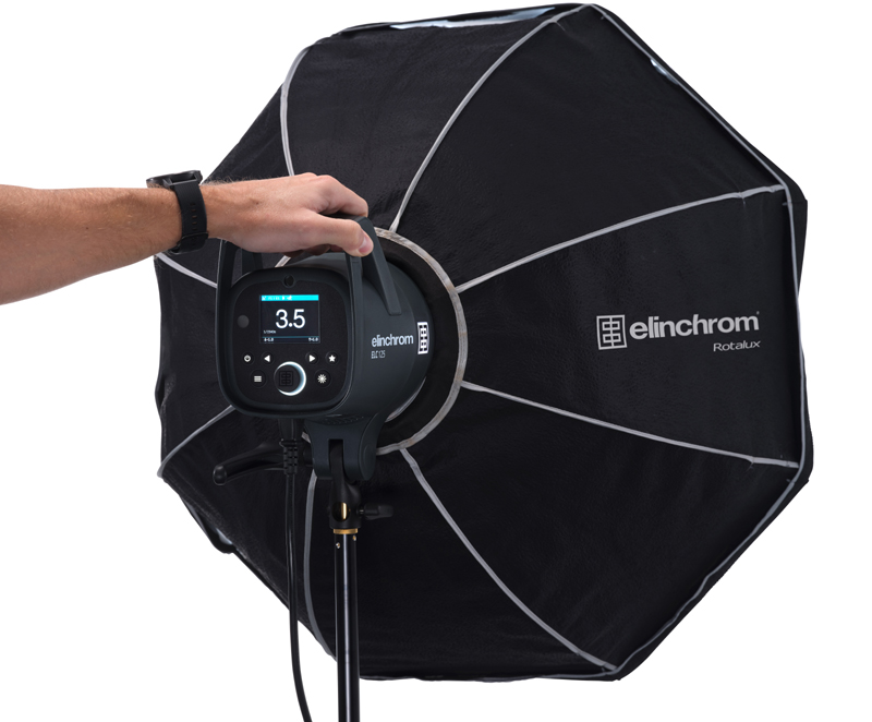 Elinchrom ELC 500/500 TTL Dual Octa Softbox Set