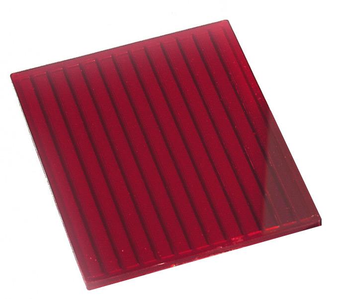KAISER Dunkelkammer-Schutzfilter Rot, 9x12cm