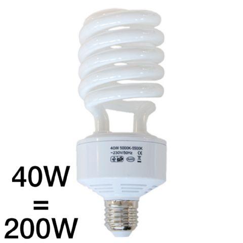 Falcon Eyes Tageslicht Lampe 40W, 5000-5500K, E27