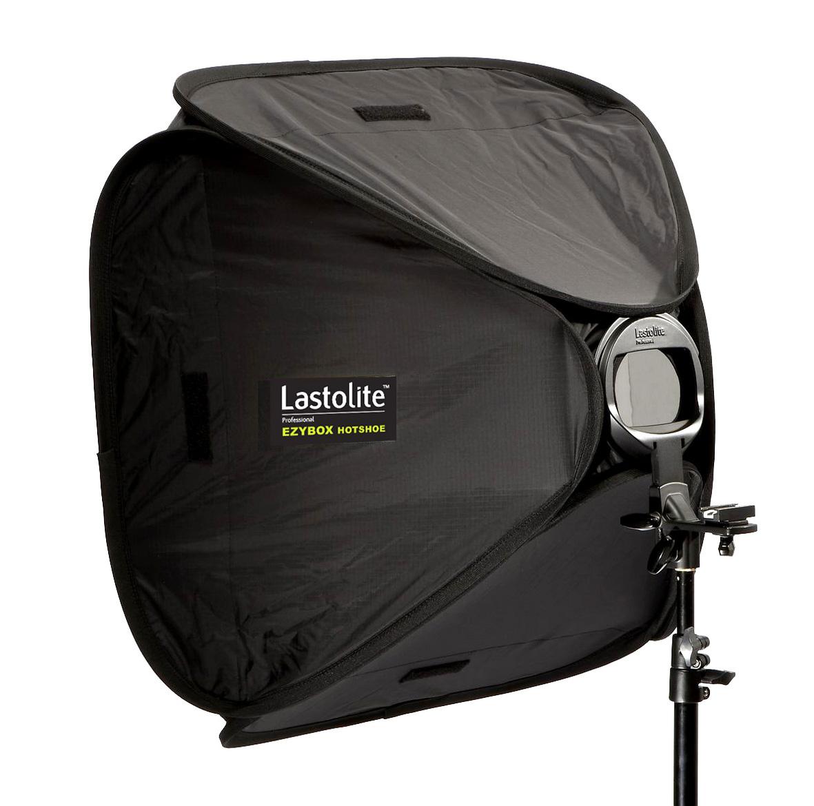 Lastolite Ezybox Hotshoe 54x54cm inkl. Blitzschiene