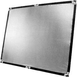 POP-UP Flächenreflektor 150x200cm silber/weiß