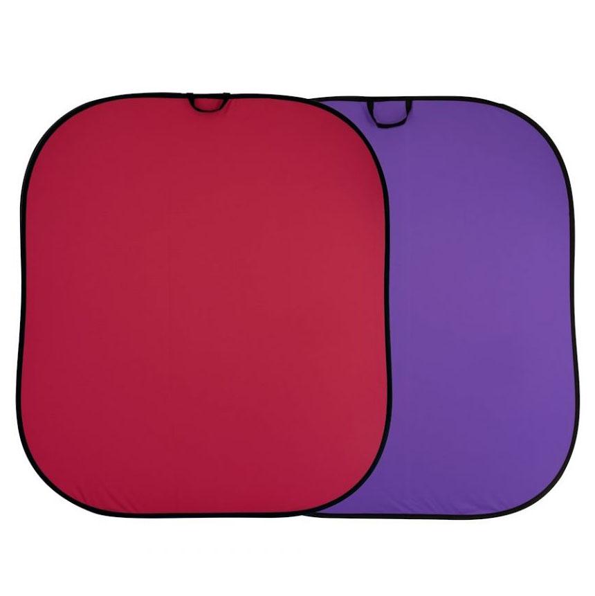 Lastolite Falthintergrund rot / purpur 1,8 x 2,15m