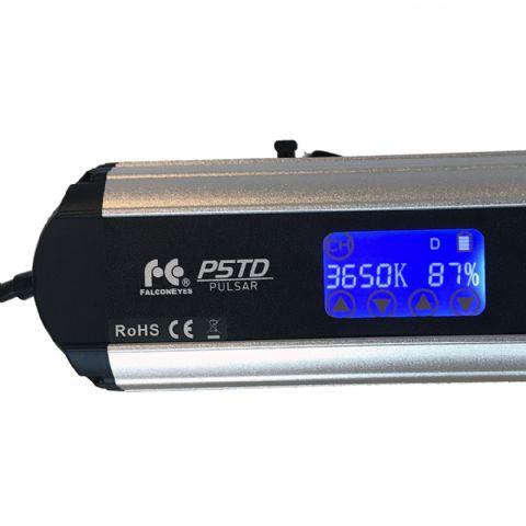 Falcon Eyes Bi-Color Mini LED Fresnel P-5AD 50W, 12-44°