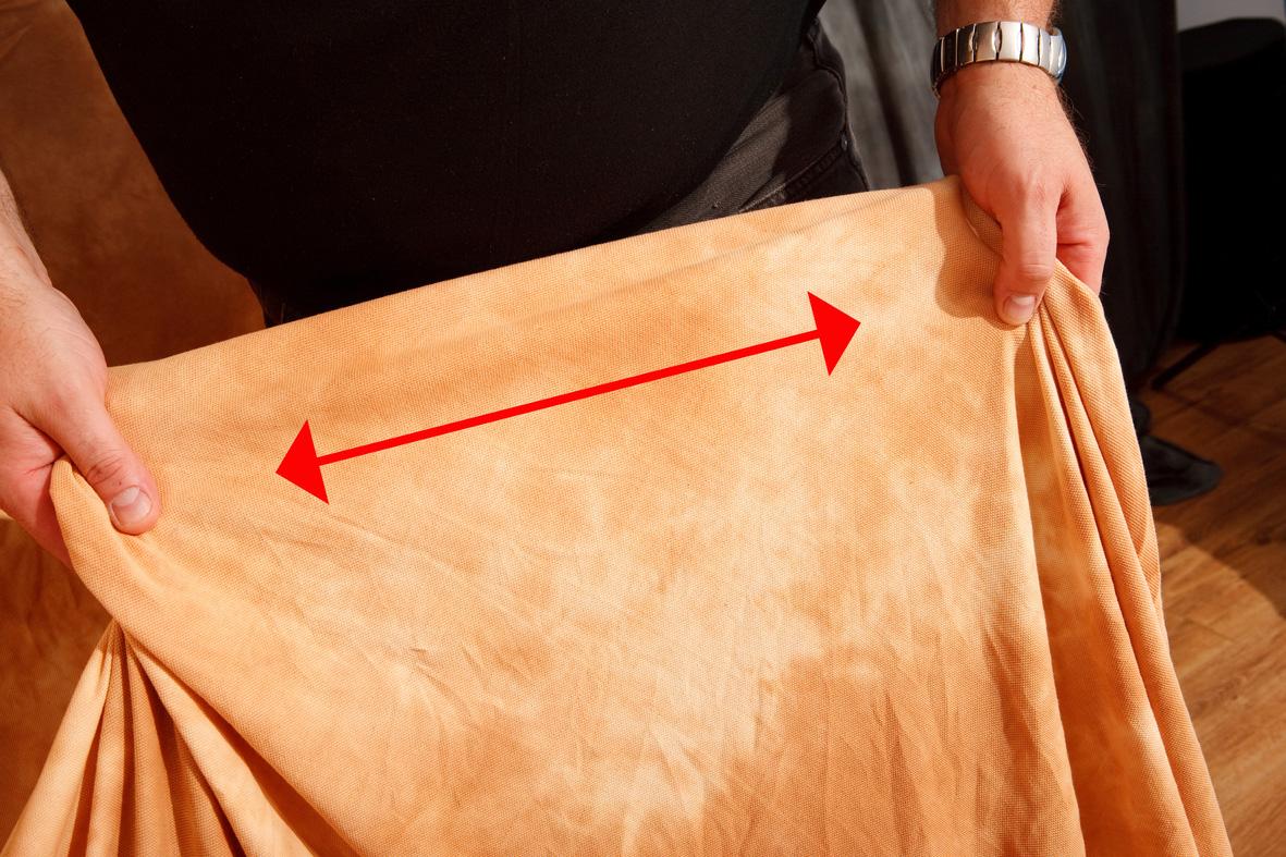 Lastolite Ezycare – faltenfrei spannbarer Stretch-Stoffhintergrund 3 x 7m FLORIDA