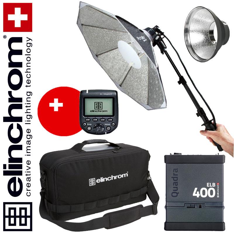 Elinchrom ELB 400 – HI-SYNC To Go BONUS-SET für OLYMPUS & PANASONIC  (LI-ION)