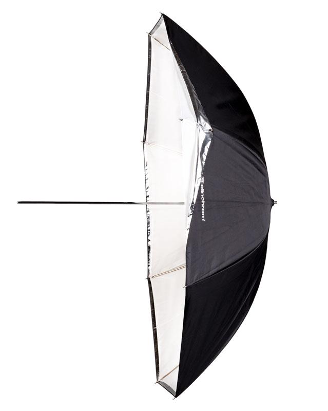 Elinchrom 2-in-1 Studioschirm ø 105cm weiß-reflektierend/transparent, umrüstbar