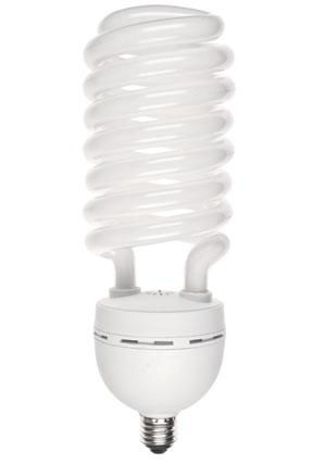 KAISER Spirallampe 70 Watt, 5400 K, E27, 5200 Lumen, 230 Volt