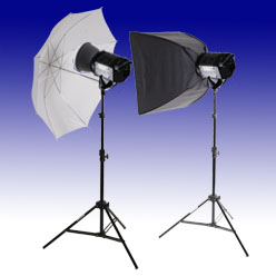 Lastolite RayD8 c3200 2x500W Studio-Komplettset