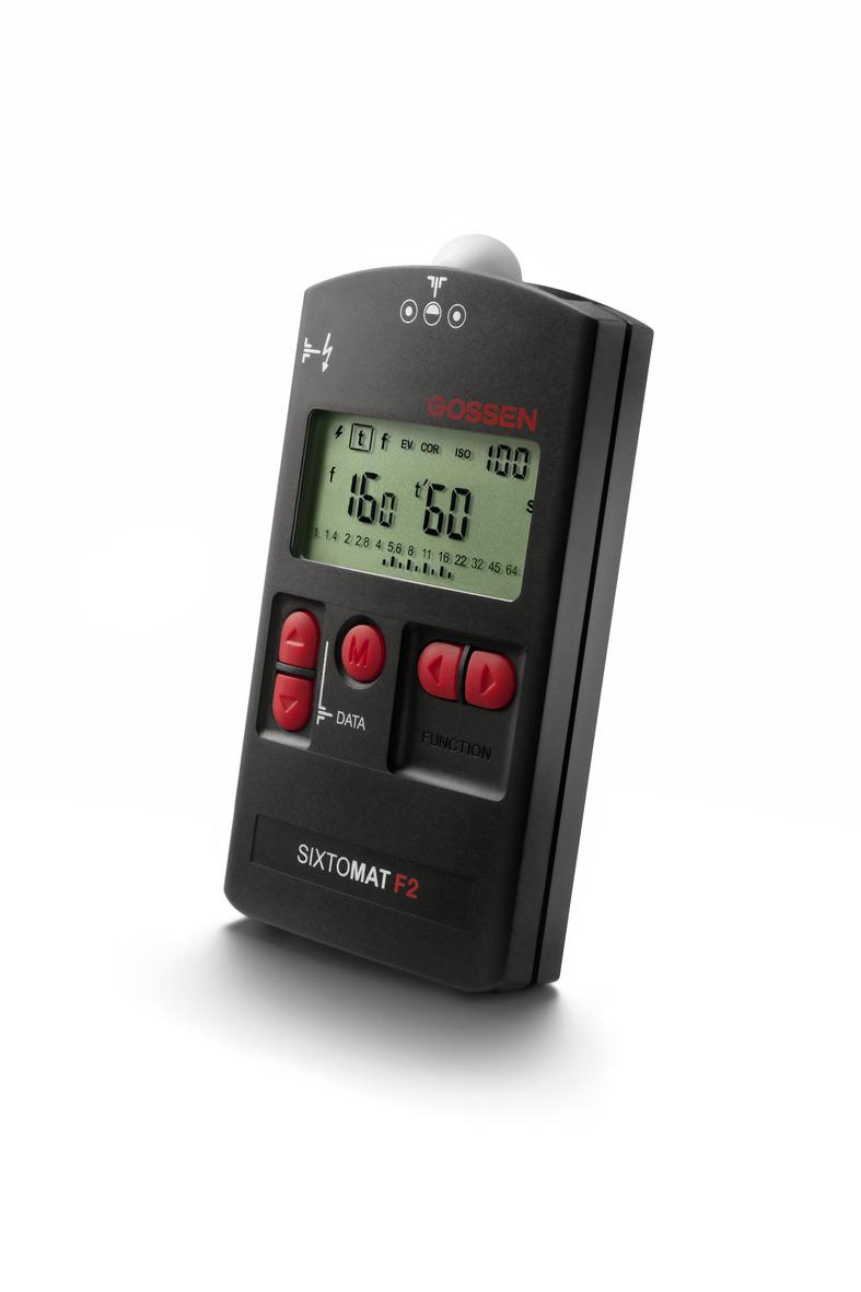 Gossen SIXTOMAT F2 Belichtungsmesser für Blitz- und Dauerlicht