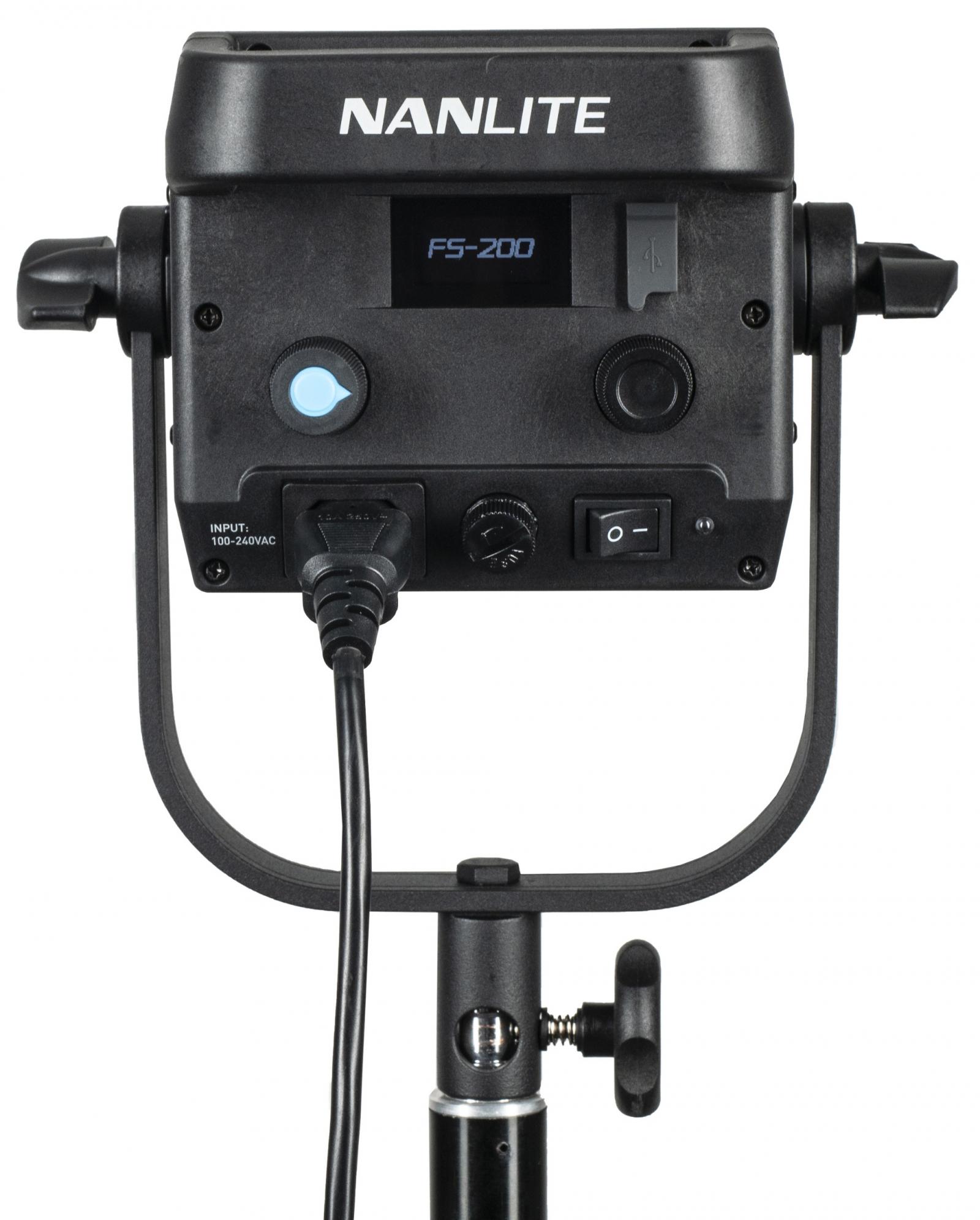 KAISER NANLITE Studio-Scheinwerfer FS-200