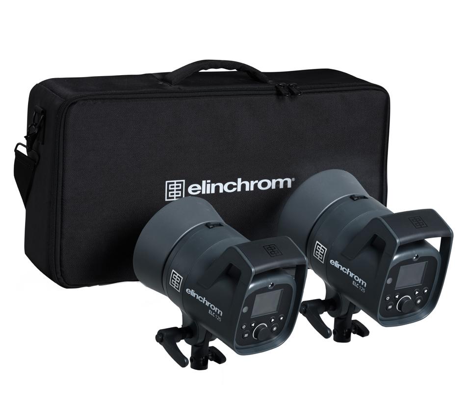 Elinchrom ELC 125/125 TTL Dual To Go Kit