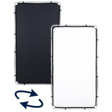 Lastolite Skylite Rapid Bespannung medium 1,1 x 2,0m schwarz/weiß