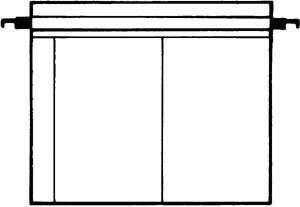 Kenro Dia-Archivhüllen für 2 ungerahmte 13x18cm Dias, ohne Schienen