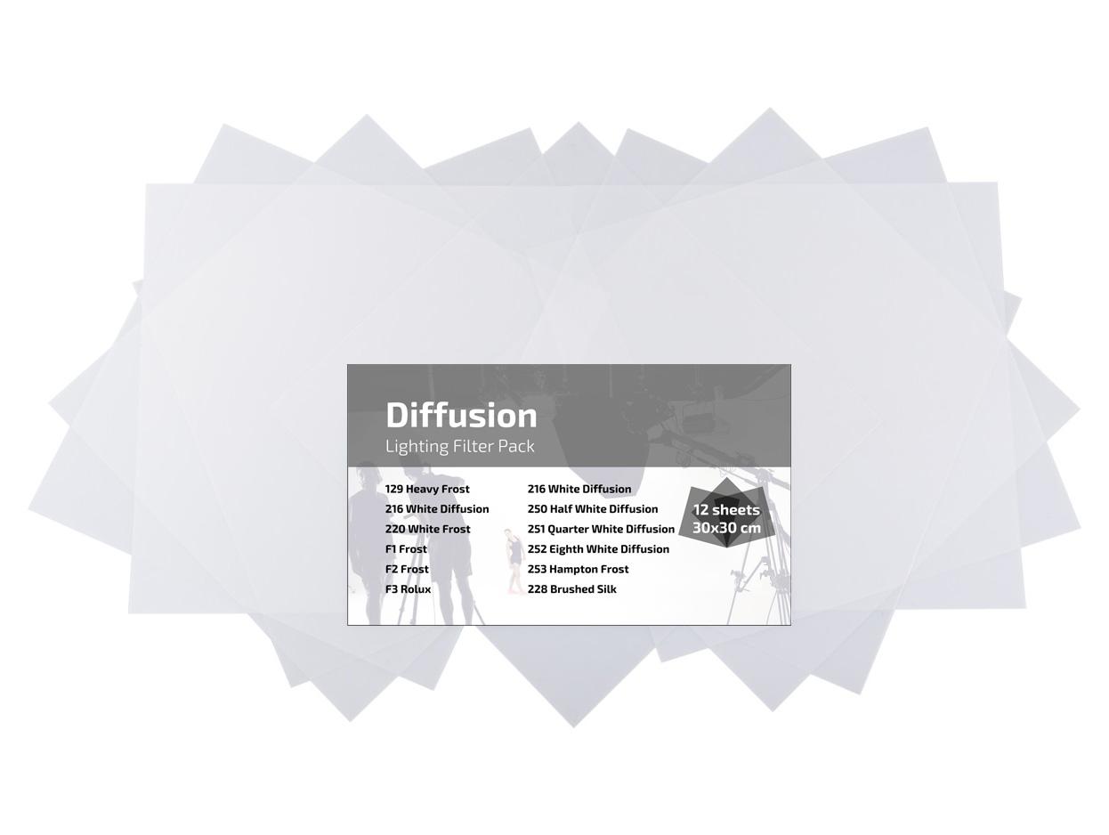 Diffusionsfilter Kit 30x30cm, 12 Stück