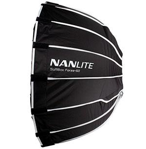 KAISER NANLITE Parabol-Softbox 60cm für Forza 60
