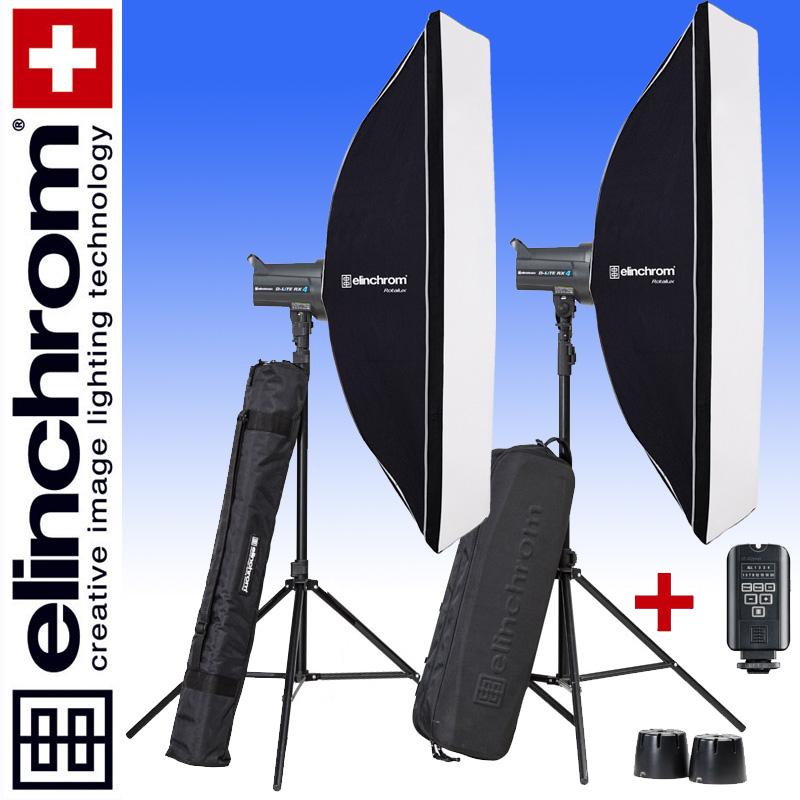 Elinchrom D-LITE RX 4/4 ROTALUX SET 50 x 130cm (400/400Ws)