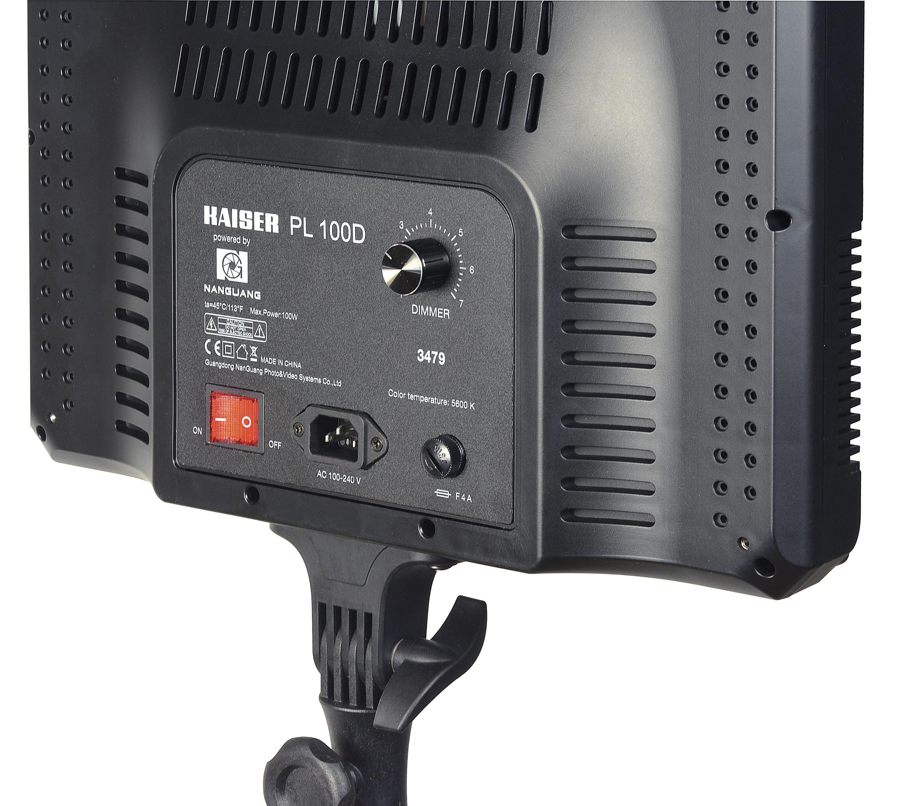 KAISER LED-Flächenleuchte PL 100D, 5600K, Leuchtfläche 36x51cm