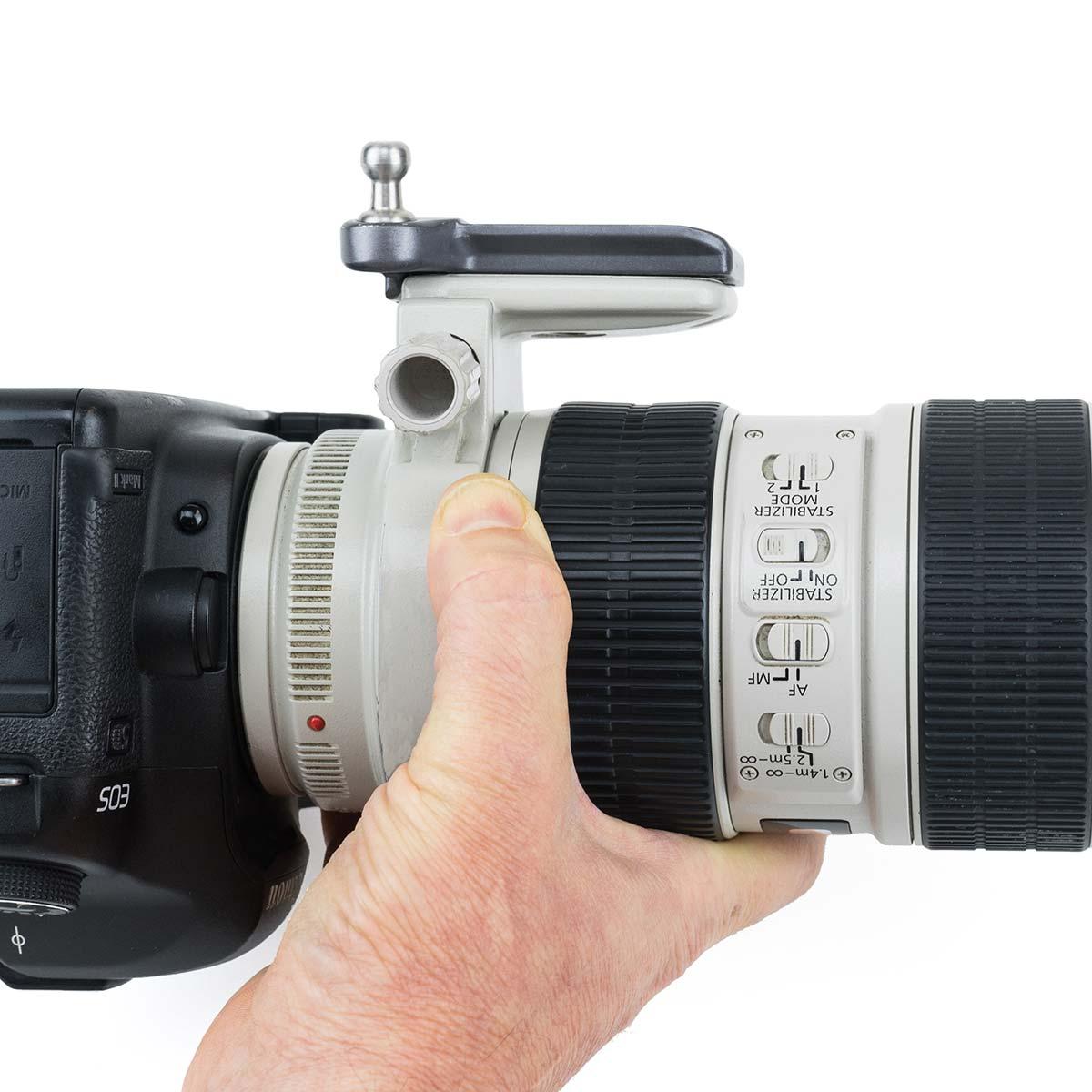 SPIDER PRO Lens Collar Plate Platte inkl. Pin für Objektivschelle