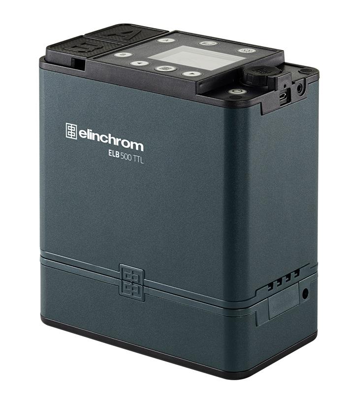 Elinchrom ELB 500 TTL - DUAL To Go Set + Skyport Sender PRO für Nikon