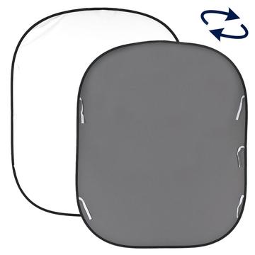 Lastolite Twist Flex Hintergrund 1,8 x 2,15m grau / weiß