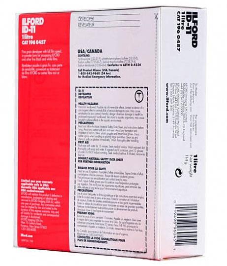 ILFORD ID-11 Pulver für 1 Liter