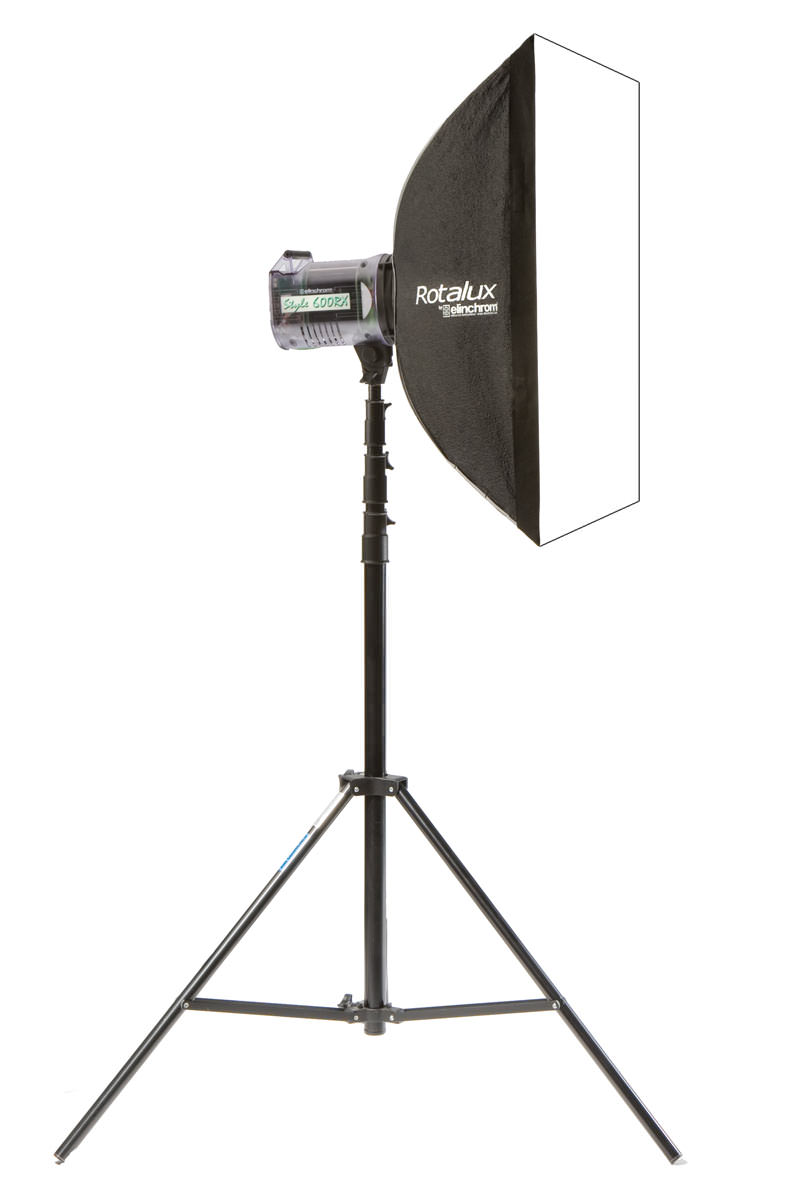 Elinchrom Rotalux Square-Softbox 70 x 70cm, drehbar, inkl. gratis Transporttasche