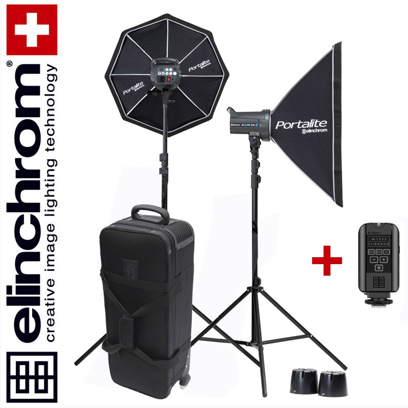 Elinchrom D-LITE RX 4/4 TO GO SET (400/400Ws) - TROLLEY Special-Edition