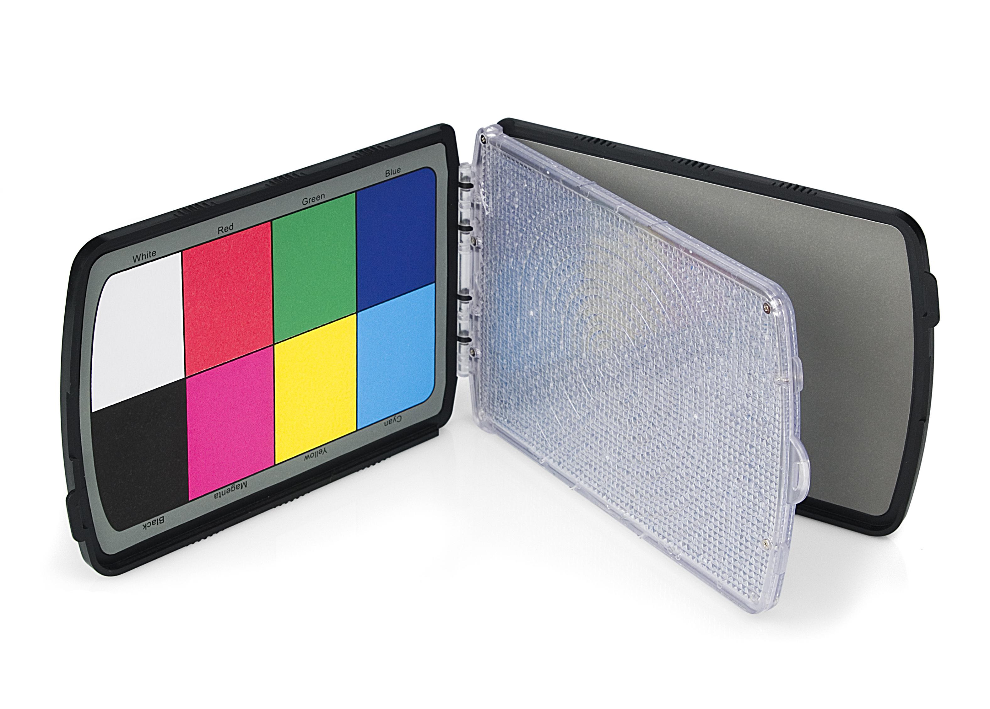 KAISER ProDisk II Weißabgleichfilter, Graukarte und Farbreferenzkarte
