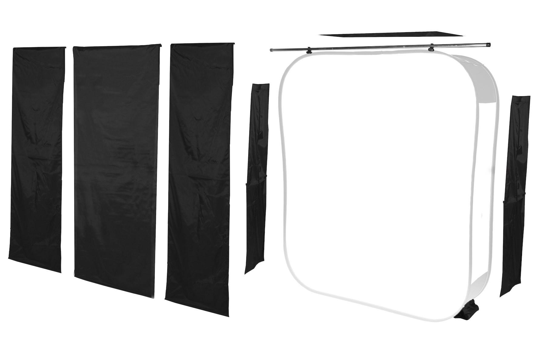 Lastolite Shapers & Masks Abschatter-Set für HiLite 1,8 x 2,15m (LL LB8967)
