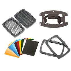 Lastolite Strobo Kit zur direkten Montage am Systemblitzgerät
