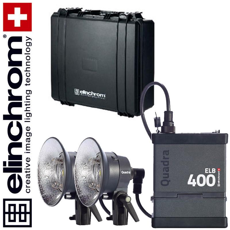 Elinchrom ELB 400 - DUAL HI-SYNC To Go Set (LI-ION)