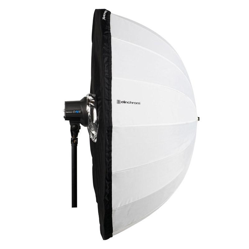 Elinchrom schwarz/silber Abdeckung für den transparenten Studioschirm Deep 125cm