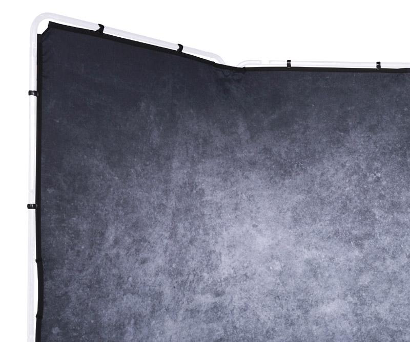 Lastolite knitterfreie Bespannung für Panorama Hintergrundsystem 4 x 2,3m, Granite