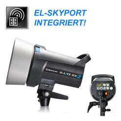 Elinchrom D-LITE RX 4 (400Ws) - mit integriertem Skyport Empfänger!