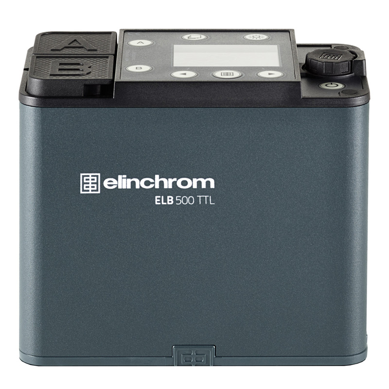 Elinchrom ELB 500 TTL Generator, ohne Akku, ohne Zubehör