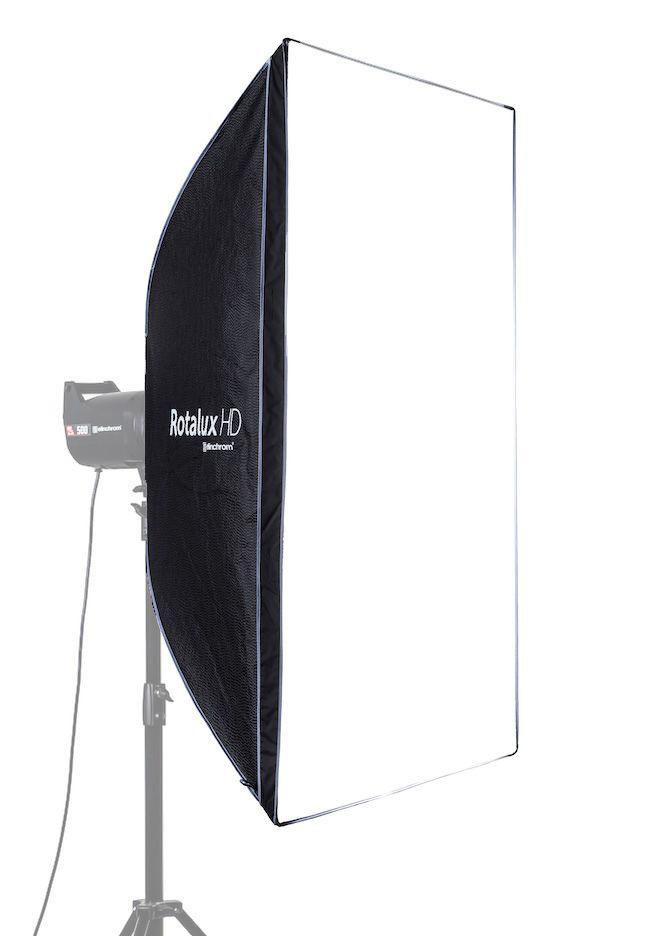 Elinchrom Rotalux HD Recta-Softbox 100 x 130cm, drehbar, inkl. Transporttasche